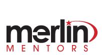 Logo that says: Merlin Mentors