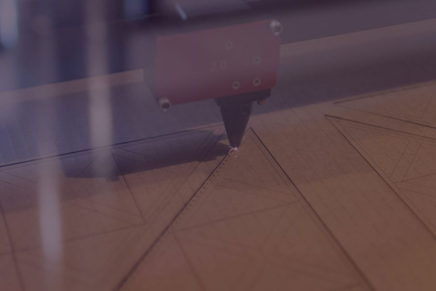 laser instrument soft focus closeup