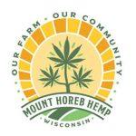 Logo that says Our Farm, Our Community- Mount Horeb Hemp