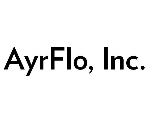 Logo that says AyrFlo Inc